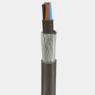 Buildworld 6mm 4 Core Armoured Cable Per Metre SWA XLPE