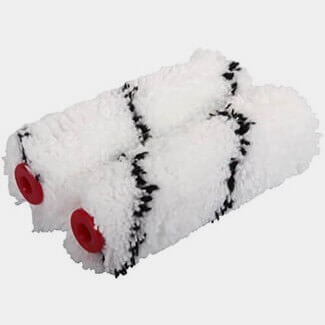 ProDec 4 Inch - 100mm Medium Pile Microfibre Mini Roller Pack Of 2