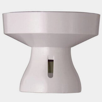 MK Electric Batten Lamp Holder White