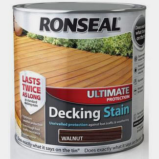 Ronseal 2.5L Walnut Ultimate Protection Decking Stain