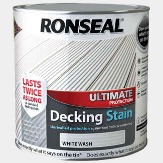 Ronseal 2.5L White Wash Ultimate Protection Decking Stain