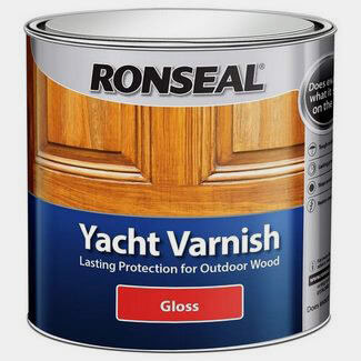 Ronseal Yacht Varnish 1L Clear Gloss