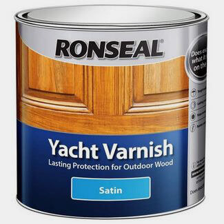 Ronseal Yacht Varnish Clear Satin - Sizes Available