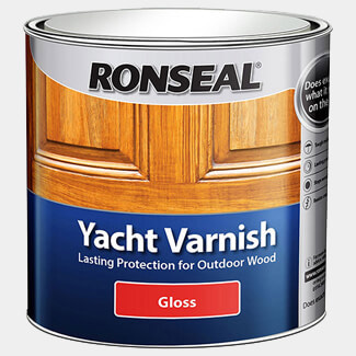 Ronseal Yacht Varnish 2.5L Clear Gloss
