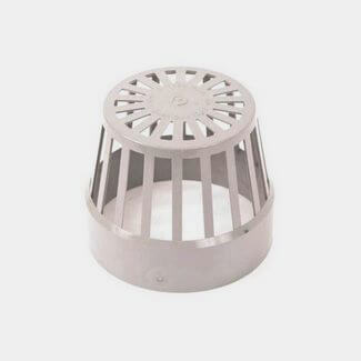 Polypipe Soil 110mm Vent Terminal Grey