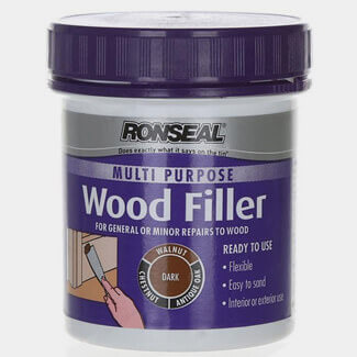 Ronseal 250g Tub Multi Purpose Dark Wood Filler