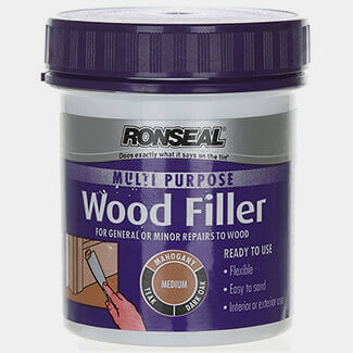 Ronseal 250g Tub Multi Purpose Medium Wood Filler