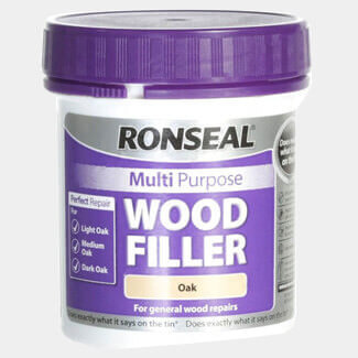 Ronseal 250g Tub Multi Purpose Oak Wood Filler