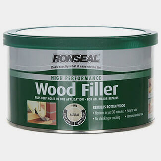 Ronseal High Performance Wood Filler - Sizes And Finishes Available