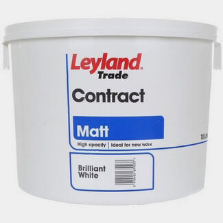 Leyland Trade Contract Matt Emulsion 10L - Colours Available