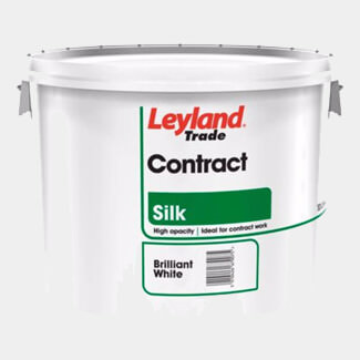 Leyland Trade Contract Silk Paint 10L - Colours Available