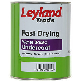 Leyland Trade Fast Drying Water Based Undercoat Paint - More Colours And Variations Available