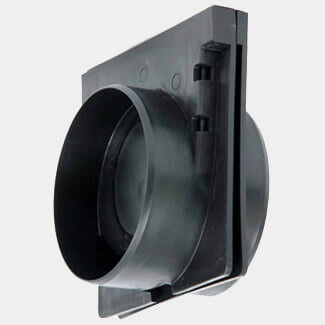 Clark Drain Endcap / Outlet For Polyprop Domestic Channel