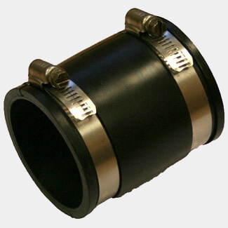 Flex Seal Fernco Straight Coupling 86mm - 80mm