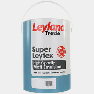 Leyland Trade Super Leytex Matt Emulsion Paint - More Colour And Sizes Available