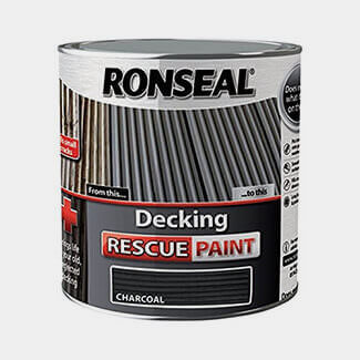 Ronseal Decking Rescue Paint 2.5L - Finishes Available