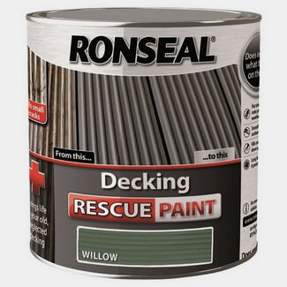 Ronseal Decking Rescue Paint 2.5L Willow