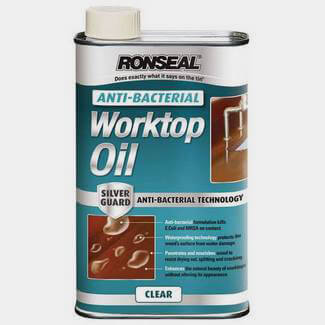 Ronseal Anti Bacterial Worktop Oil Clear 1L