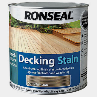 Ronseal Decking Stain 2.5L Country Oak