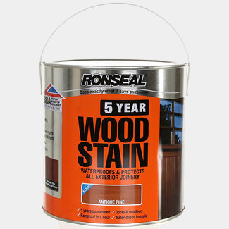 Ronseal 5 Year Woodstain 2.5L Antique Pine