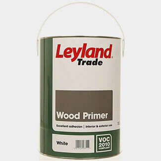 Leyland Paint Trade Wood Primer 5L White