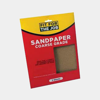 Rodo Fit For Job 230mm x 280mm Coarse Grade Sand Paper