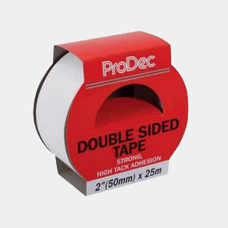 ProDec 48mm Wide x 25mtr Long Double Sided Tape