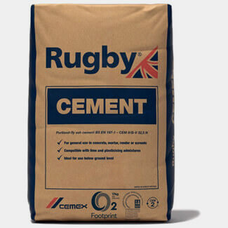 Rugby Cement Paper Bag 25Kg