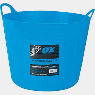 Ox Tools Pro Heavy Duty Flexi Tub - Available In Various Sizes