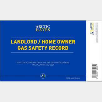 Arctic Hayes Landlord And Homeowners Record Pad