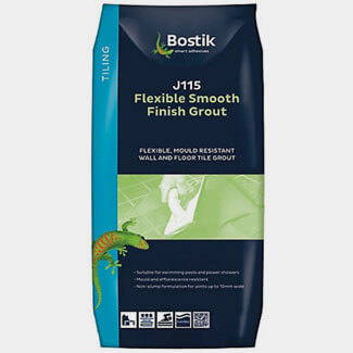 Bostik J115 Flexible Smooth Finish Grout - Various Finishes Available
