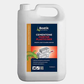 Bostik Cementone Mortar Plasticiser - Various Pack Sizes Available