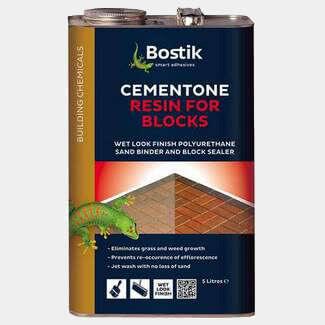 Bostik Cementone Resin For Blocks - Various Finishes Available