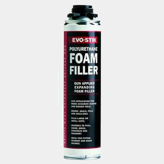 Evo-Stik Gun-Applied Polyurethane Foam Filler 700ml