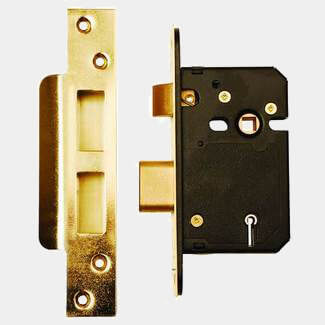 Dale BS3621 5 Lever Mortice Sash Lock 63mm - Various Finishes Available