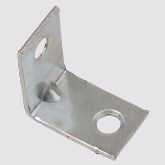 Dale Corner Brace Zinc Plated - Pack Of 6 - Various Sizes Available