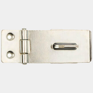 Dale Safety Hasp And Staple Bright Zinc Plated - Sizes Available