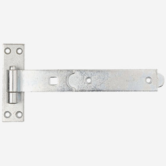 Dale Straight Band And Hook Bright Zinc Plated - Sizes Available