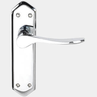 Dale Calver Suite Lever On Backplate Polished Chrome Plated - Variation Available