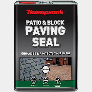 Thompsons Patio And Block Paving Seal 5L - Finishes Available