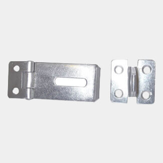 Dale 100mm Self Colour Hasp And Staple
