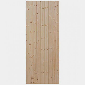 JB Kind External Softwood Boarded Ledged and Braced Shed Door - More Sizes Available