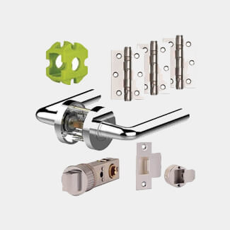 Jigtech Riva Handle Door Pack 57mm - Various Finish Available