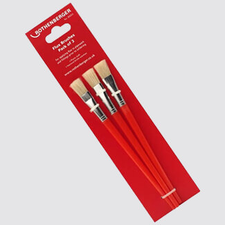 Rothenberger Flux Brushes Set Of 3