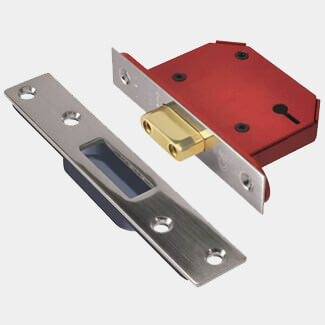 Union 3 Lever Strongbolt Deadlock - Various Sizes Available