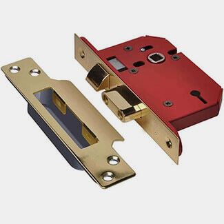 Union 3 Lever Strongbolt Sashlock - Various Finishes And Sizes Available
