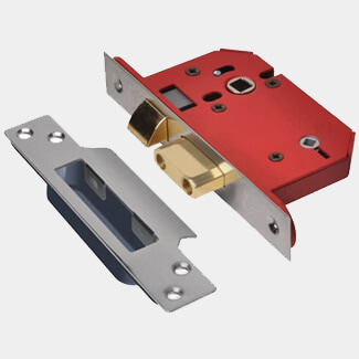 Union Strongbolt Bathroom Lock - Available In Various Sizes