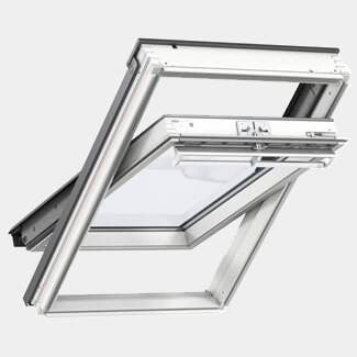 Velux Loft Window Center Pivot White - Various Width And Height Available