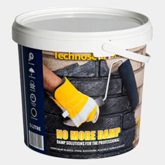 Wykamol Technoseal Liquid Damp Proof Membrane 5kg - Various Finish Available