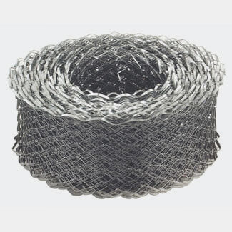 Expamet Pre-Galvanised 20Mtr Length Reinforcement Coil Mesh - Various Width Available